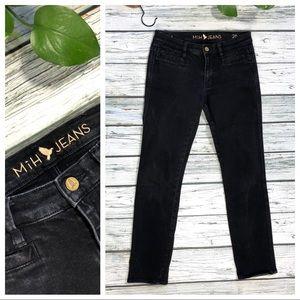 MiH black skinny Jeans Anthropologie Sz 26